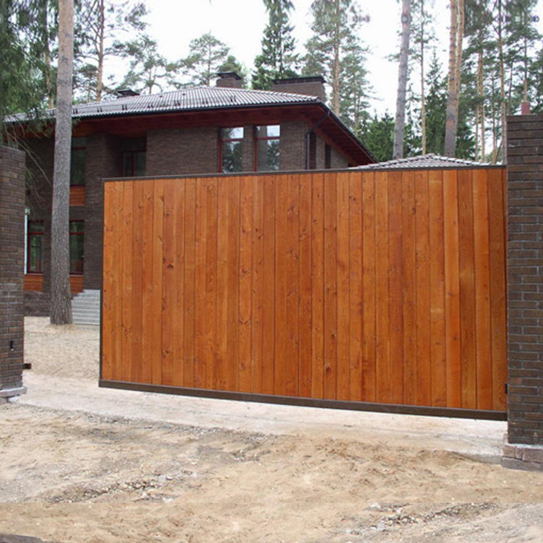Откатные ворота Alutech ADS400